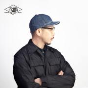 HIGHER ハイヤー ユーズドウォッシュ セルヴィッジデニムキャップ 帽子 ワークキャップ 日本製 メンズ レディース ユニセックス