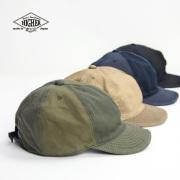 HIGHER ハイヤー マルチ6パネルキャップ 帽子 ワークキャップ 日本製 メンズ レディース ユニセックス