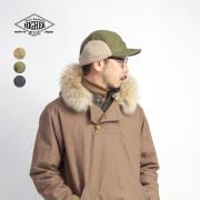 HIGHER ハイヤー コードレーンハンターキャップ 帽子 ボア耳当て 日本製 メンズ レディース ユニセックス