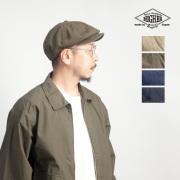 HIGHER ハイヤー アーミーチノキャスケット 帽子 日本製 メンズ レディース ユニセックス