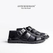 ANTICHI ROMANI アンティーキロマーニ 本革 レザー グルカサンダル メンズ