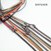 DIFFUSER ディフューザー ツートーン グラスコード 本革 レザー 全8色 メガネコード 日本製 おしゃれ