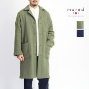 Mared マレッド ウールカシミアサージ ワークコート イタリア製 メンズ