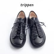 trippen トリッペン TODI レースアップレザーシューズ メンズ