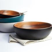 RINTO リント アカシアウッド ボウル L 木製 皿 大皿 食器 器 おしゃれ かわいい