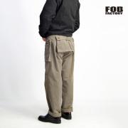 FOB FACTORY FOBファクトリー ヘリンボーン M-44 モンキーパンツ カーゴパンツ 日本製 メンズ