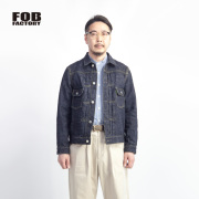 FOB FACTORY FOBファクトリー  GL3セルビッチデニムジャケット 2nd Gジャン 日本製 セットアップ対応 メンズ