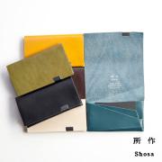 所作 shosa カードケース 名刺入れ 本革 レザー basic 日本製 メンズ レディース