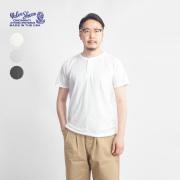 VELVA SHEEN ベルバシーン ヘンリーネックTシャツ メンズ