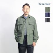 PROPPER プロッパー リップストップ BDUジャケット ファティーグジャケット メンズ