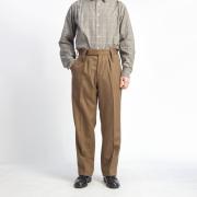 イギリス軍 ウール100% バラックドレストラウザーズ オフィサーパンツ BARRACK DRESS TROUSERS デッドストック メンズ