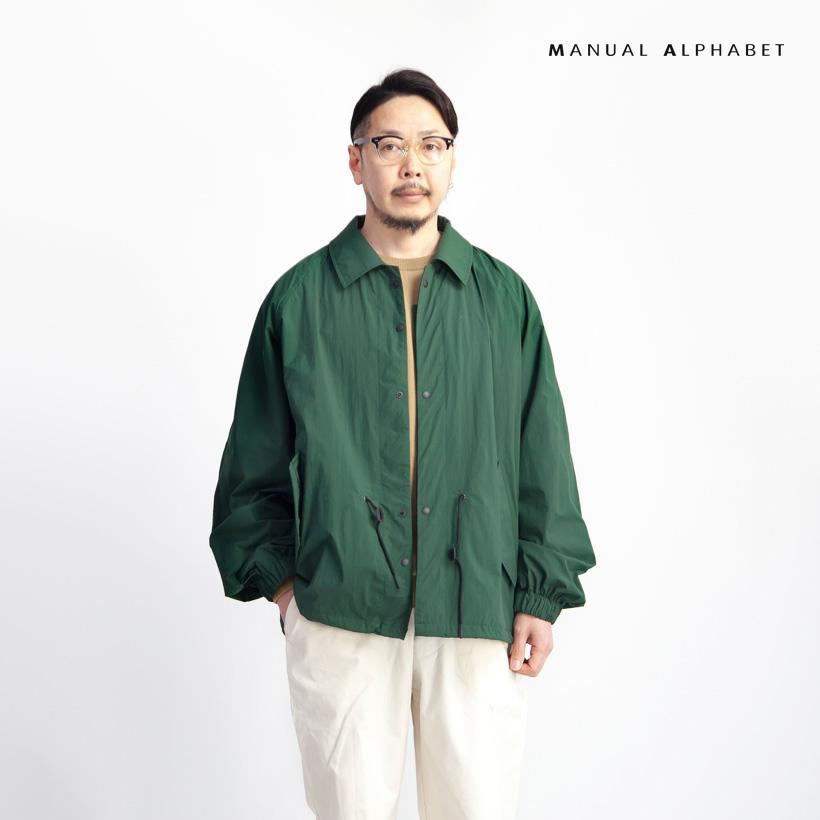 MANUAL ALPHABET マニュアルアルファベット M51ライクショートコート ブルゾン 撥水 日本製 メンズ