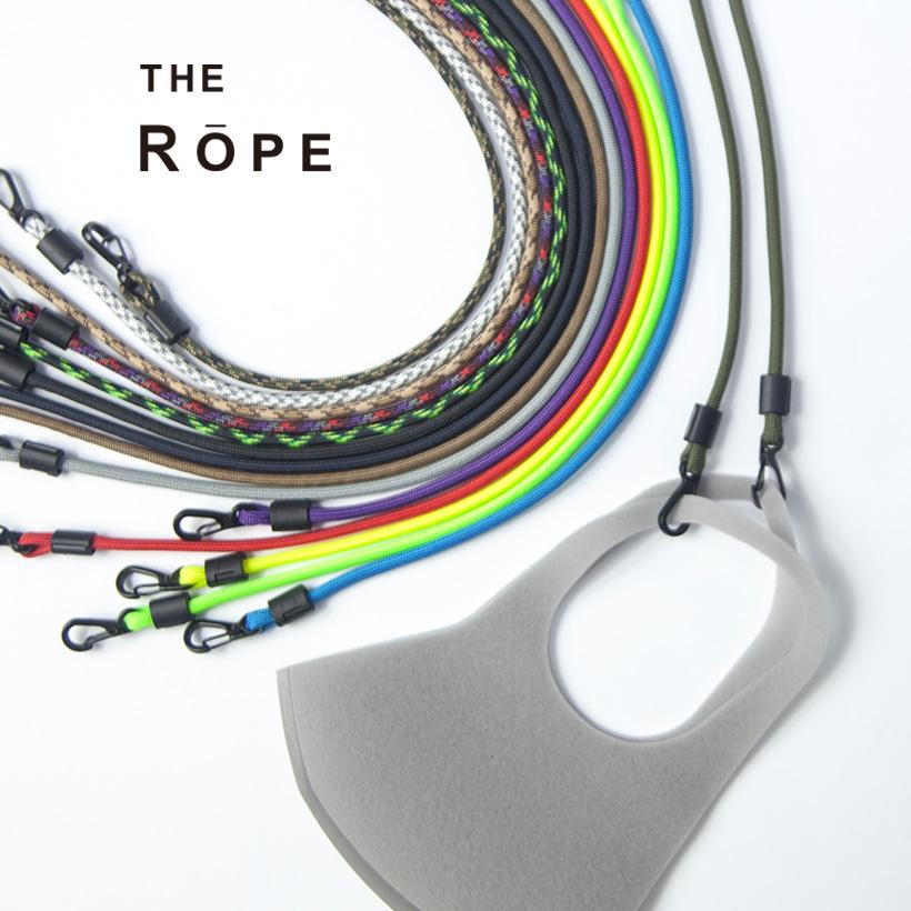 THE ROPE ザ・ロープ マスクストラップ パラコード Atwood Rope アットウッドロープ 国産 日本製 おしゃれ