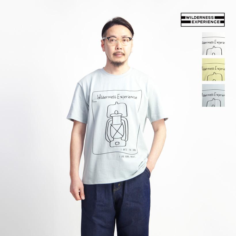 WILDERNESS EXPERIENCE ウィルダネスエクスペリエンス プリントTシャツ ランタン メンズ