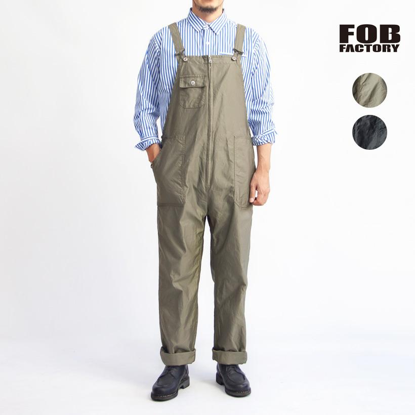 FOB FACTORY FOBファクトリー ミリタリー オーバーオール 日本製 メンズ