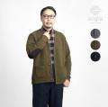 Soglia ソリア ランドノア ブリティッシュウール ニットカーディガン エルボーパッチ 日本製 メンズ
