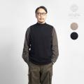 Soglia ソリア WEANERS ウイナーズ ホールガーメント ウールニットベスト セーター 日本製 メンズ