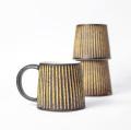 醇窯 鉄彩 台形マグカップ 高須 健太郎 陶器 コップ コーヒーカップ かわいい おしゃれ
