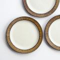 醇窯 鉄彩 丸リム皿 高須 健太郎 6寸皿 中皿 陶器 食器 かわいい おしゃれ