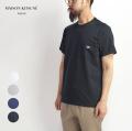 MAISON KITSUNE メゾンキツネ トリコロールフォックス ポケットTシャツ メンズ