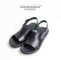 ANTICHI ROMANI アンティーキロマーニ ベルトストラップレザーサンダル メンズ