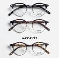 MOSCOT モスコット AIDIM 46サイズ ボストンサーモント ブロー メガネ 伊達 度付き