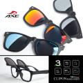 跳ね上げクリップサングラス/ミラーサングラス/偏光レンズ/AXE/アックス