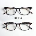 DITA ディータ BUCKEYE 49サイズ ウェリントン メガネ 伊達 度付き