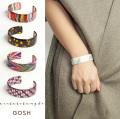 GOSH ゴッシュ アセテート バングル カラフル レディース 女性 おしゃれ 腕輪 ブレスレット