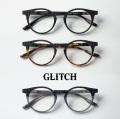 GLITCH グリッチ Pilton ピルトン glh-1001 ボストンフレーム 伊達 度付き
