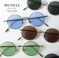DUNELL High Quality デュネル チタン製 金手ラウンドサングラス 丸 46サイズ 日本製 鯖江