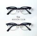 BOSTON CLUB ボストンクラブ TAYLOR 跳ね上げ式サーモントブローフレーム メガネ 伊達 度付き