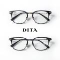 DITA ディータ UNION 52サイズ ウェリントンフレーム メガネ 伊達 度付き