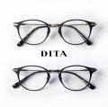 DITA ディータ UNITED 48サイズ ボストンフレーム メガネ 伊達 度付き