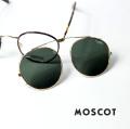 MOSCOT モスコット ZEV 46サイズ ボストン クリップサングラス