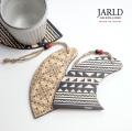 JARLD ジャールド 土佐桧 サーフ コースター ウッド 木製 日本製 おしゃれ