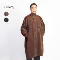 H.UNIT エイチユニット コーデュロイ ガスケープコート 日本製 メンズ