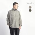 Bettaku ベッタク コットンフランネル 5タックチェックシャツ 日本製 メンズ