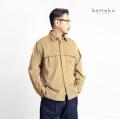 Bettaku ベッタク リラックスマッキーノ コーデュロイシャツジャケット 日本製 メンズ