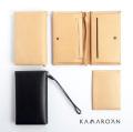 Kamaro'an カマロアン イタリアンレザー パスポートケース カバー カードケース 財布 本革 ヌメ革