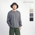 MANUAL ALPHABET マニュアルアルファベット ULTIMA天竺長袖Tシャツ カットソー 日本製 メンズ