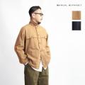 MANUAL ALPHABET マニュアルアルファベット コットンウールカルゼ ワークジャケット 日本製 メンズ