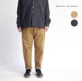 MANUAL ALPHABET マニュアルアルファベット ブラッシュドストレッチツイル テーパードパンツ セットアップ対応 日本製 メンズ