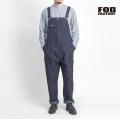 FOB FACTORY FOBファクトリー ジェルトデニム オーバーオール 日本製 メンズ