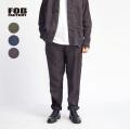FOB FACTORY FOBファクトリー 麻100% ヘンプ イージーパンツ セットアップ対応 日本製 メンズ