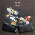 所作 shosa 長財布 ロングウォレット 海月 金魚 本革 レザー 日本製 メンズ レディース