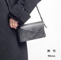 所作 shosa 本革 ブライドルレザー ミニショルダーバッグ ショルダーポーチ 日本製 コンパクト メンズ レディース