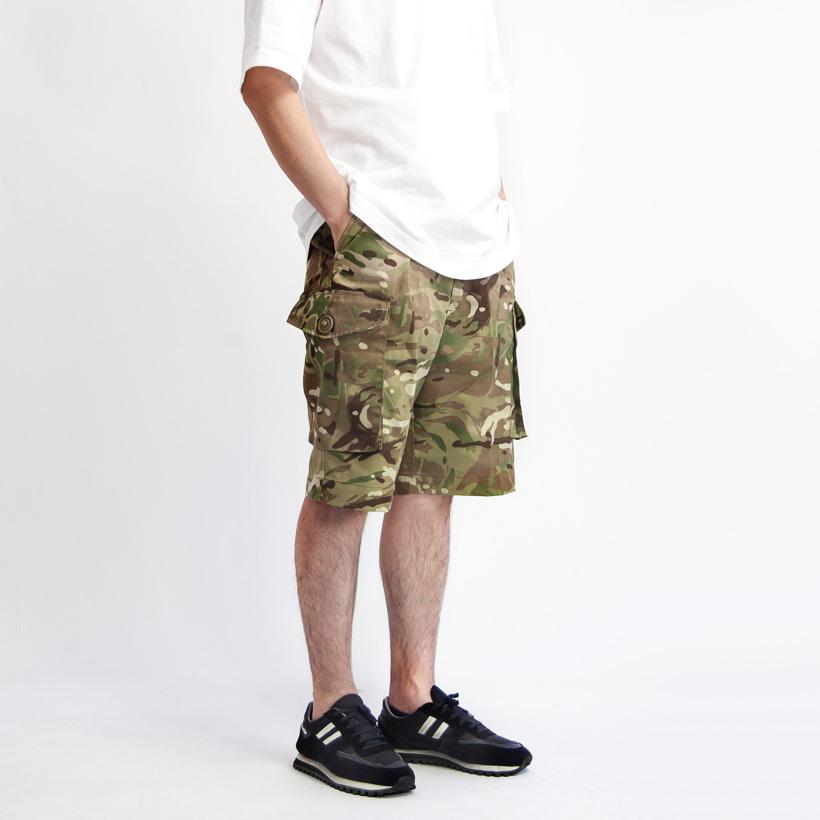 イギリス軍 カーゴショートパンツ MTP デッドストック メンズ