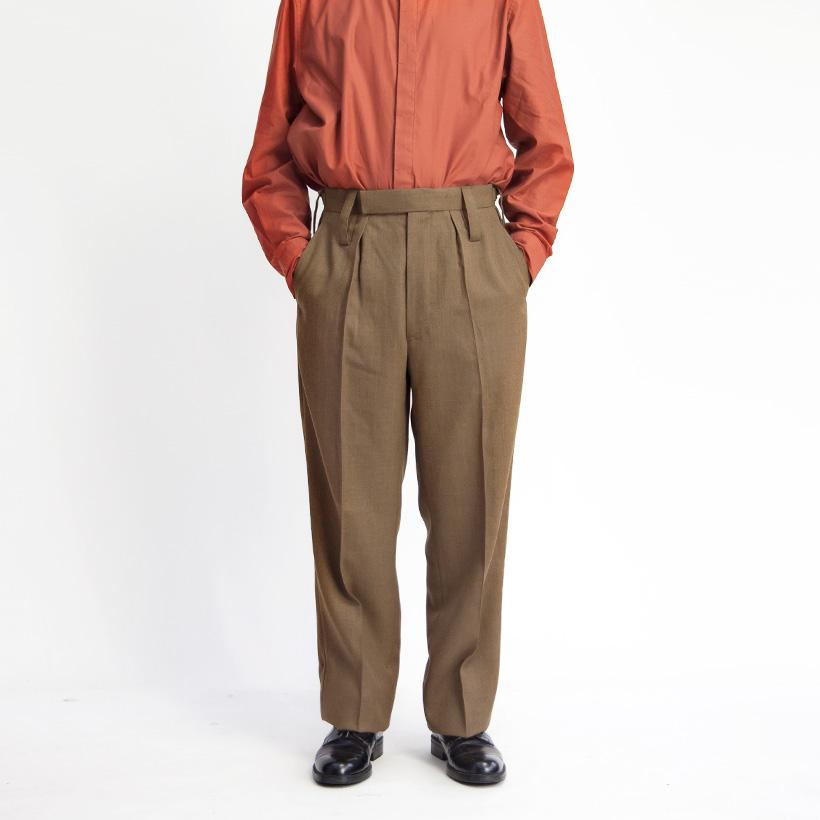 イギリス軍 バラックドレストラウザーズ オフィサーパンツ BARRACK DRESS TROUSERS デッドストック メンズ