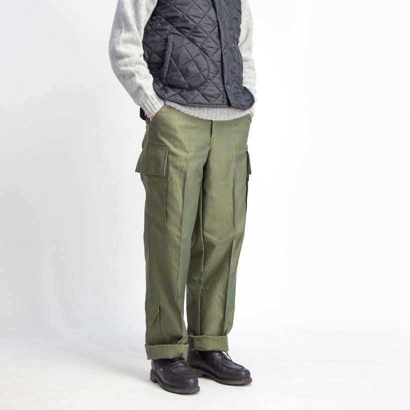 オランダ軍 ナイフポケット付き フィールドカーゴパンツ デッドストック メンズ